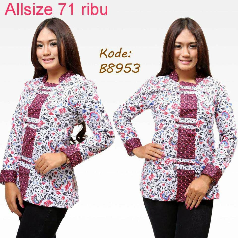 Pakaian Batik Untuk Interview Kerja: Baju Model Batik Terbaru