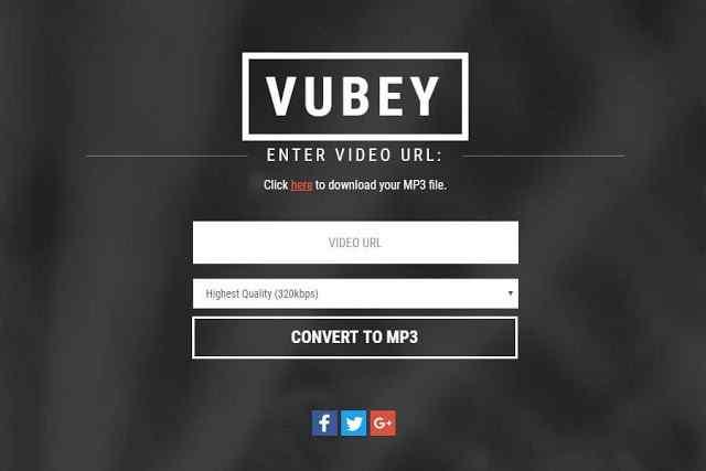 الخطوة الثانية : اذهب إلى Vubey