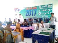 Diminati, Mini Job Fair 2017 yang Digelar di SMKN 10 Bima
