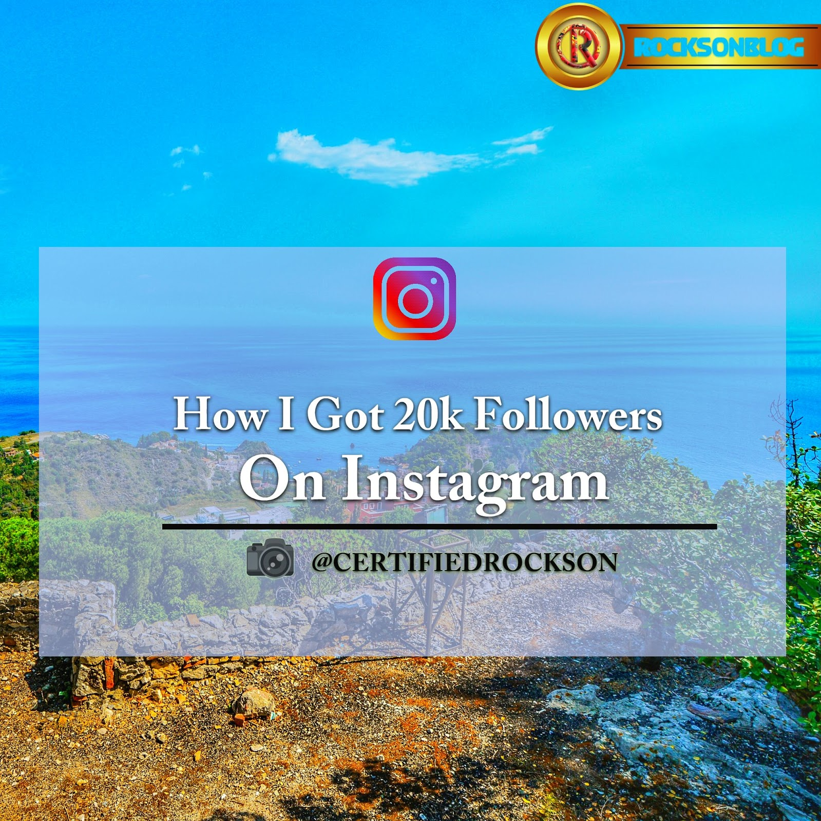How I go 20k Followers on Instagram
