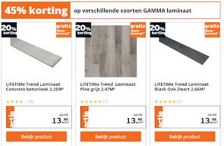 Laminaat Gamma lage prijs