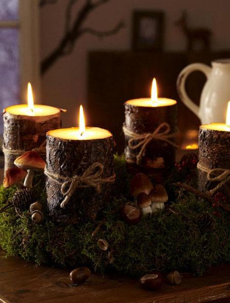 Esta navidad recibe a tu familia y amigos con algo creado - Centros de mesa navidenos hechos a mano ...