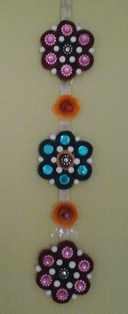 flower model quilling paper wall hanging designs - quillingpaperdesigns