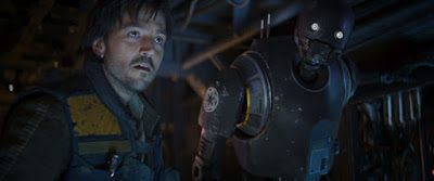 Diego Luna and Alan Tudyk in Rogue One A Star Wars Story (16)