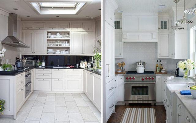 Marzua distribuci n de cocinas en u - Cocinas pequenas en forma de u ...