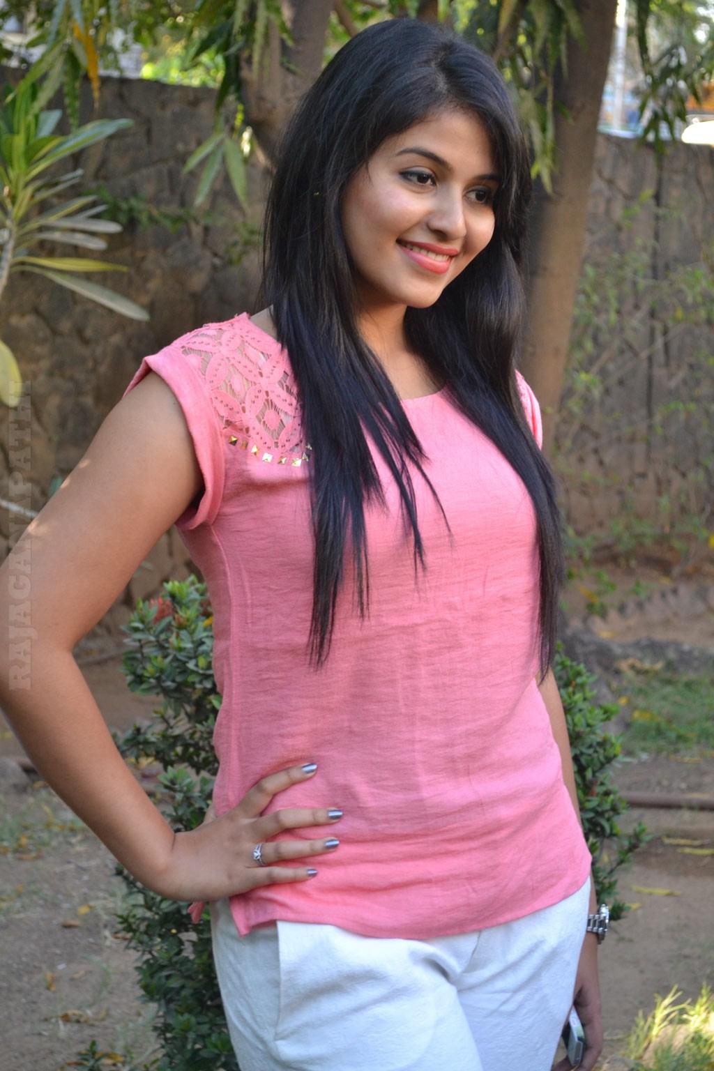 Actress Anjali In Pink Dress Latest Hot Photos  Gateway -9806