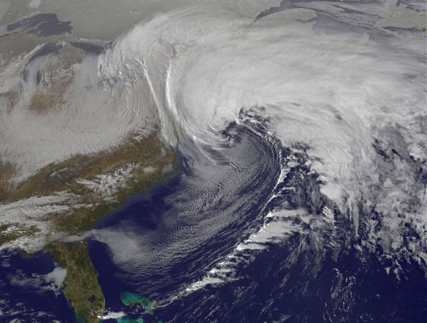 Birth of Monster Blizzard: Nemo Seen from Space [Video ...