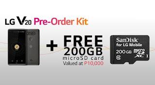 LG V20 Pre Order Kit