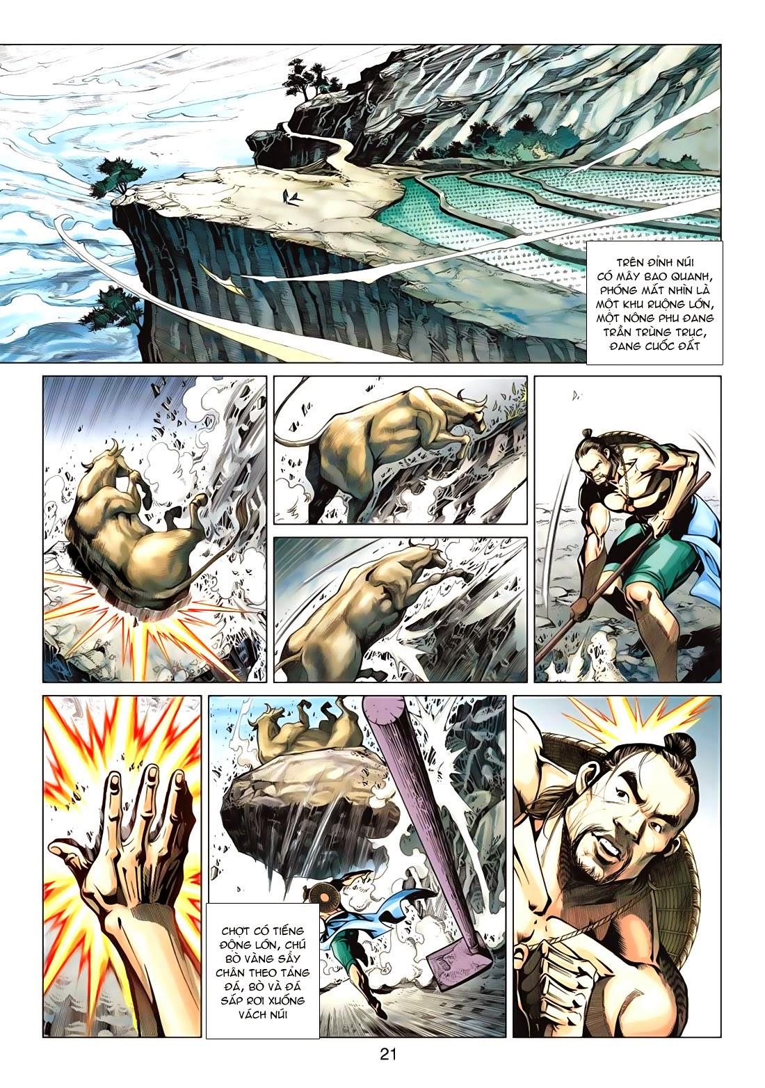 Anh Hùng Xạ Điêu anh hùng xạ đêu chap 72: ngư tiều canh độc trang 21