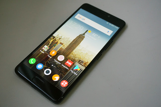 review infinix note 4