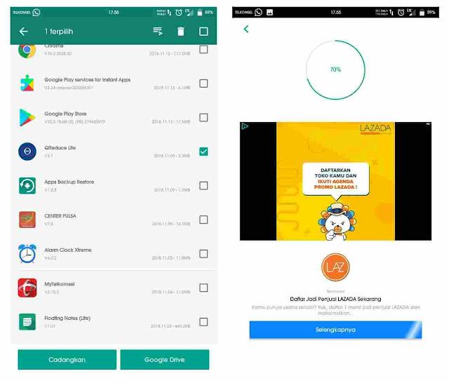 Cara mengirim aplikasi android melalui Whatsapp 2