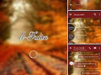 Download BBM Mod Fution Autumn Theme V3.1.0.13 Apk