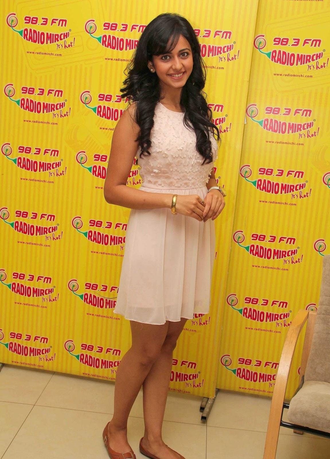Rakul Preet Beautiful Smiling Photo Shoot