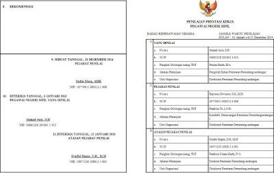 Contoh SKP PNS Tugas Belajar (Halaman 1)