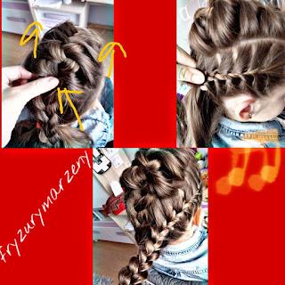 Warkocze-upiecie-trzy-warkocze-fryzury-fryzurymarzeny-impreza-