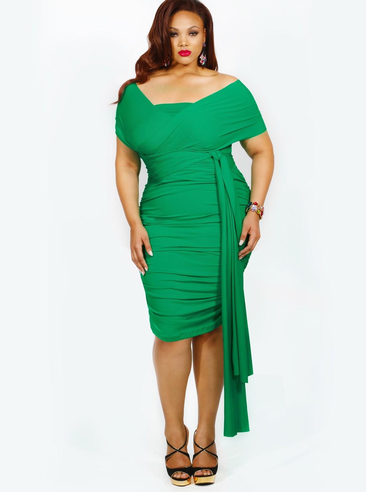 97d718202 Vestidos de Noche -Verdes Cortos-para Gorditas