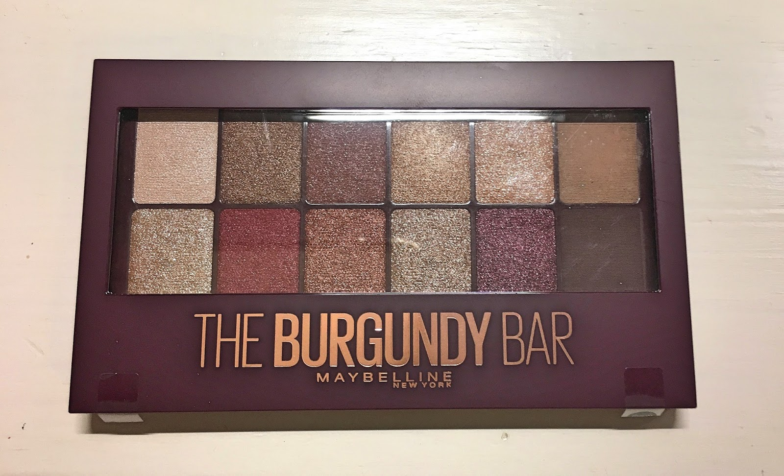 50fd7763764 Suzy Q-tip: First Impressions: Maybelline The Burgundy Bar Palette