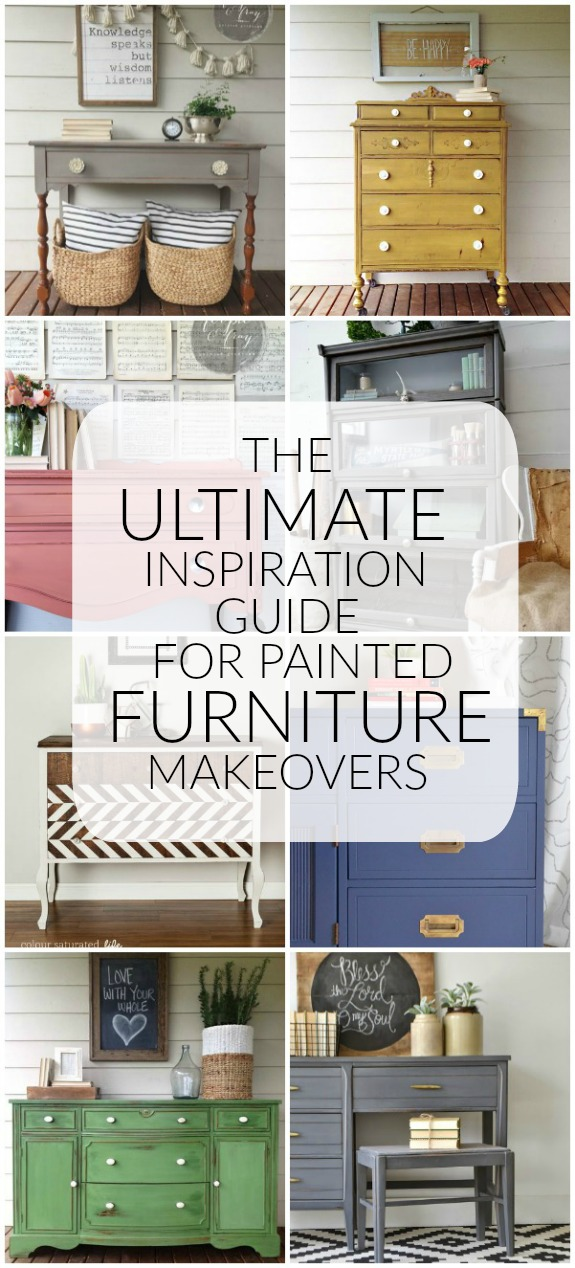 The Ultimate Inspiration Guide For Painted Furniture Makeovers. Littlehouseoffour.com