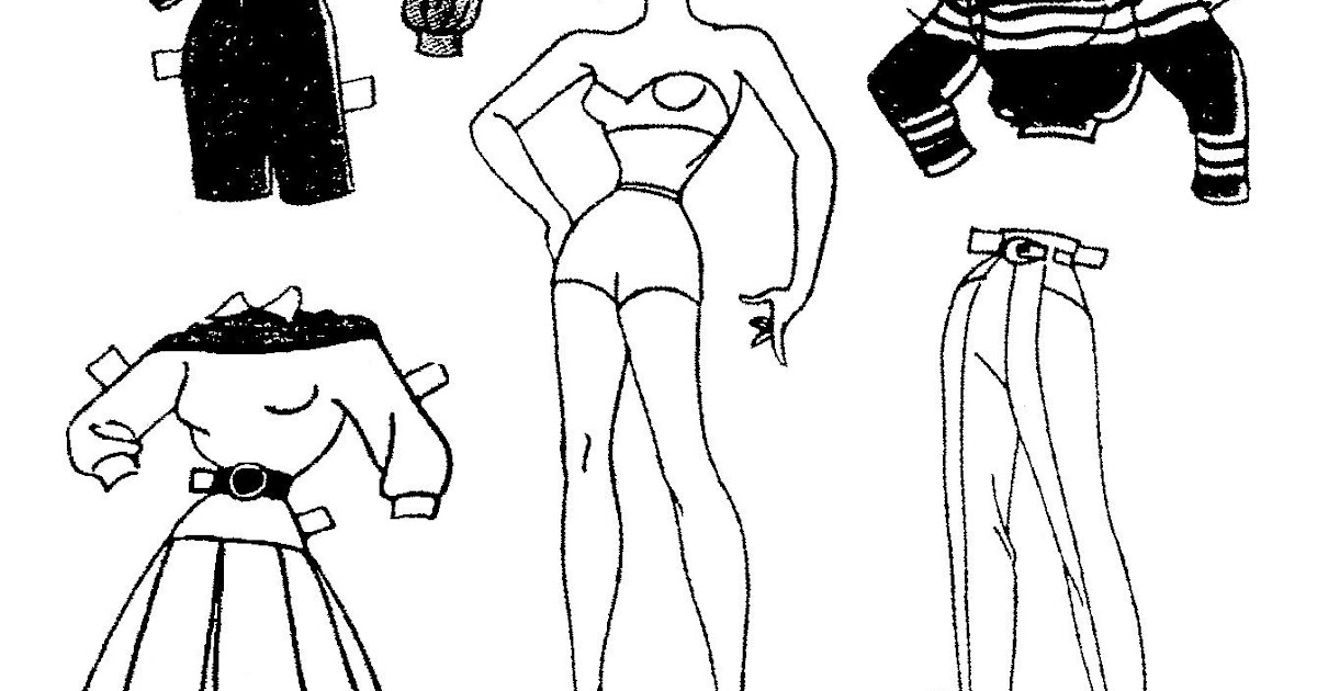 Mostly Paper Dolls Too!: More MOPSY Paper Dolls