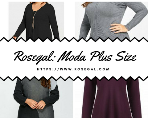 Rosegal: Moda Plus Size