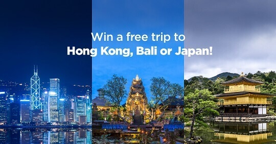 Win an All-Expense-Paid Trip to Indonesia or Japan Using PayMaya