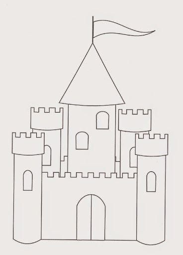 Moldes para hacer castillos de juguete con los niños en estas ...