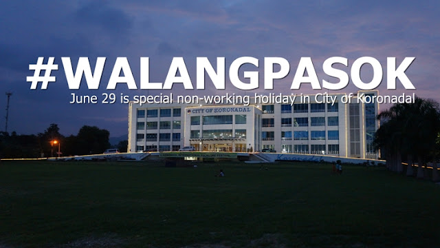 Malacañang declares June 29 a non-working holiday in Koronadal