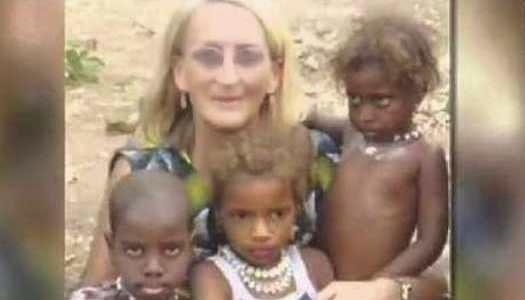 Misionera Phyllis Sortor en Nigeria