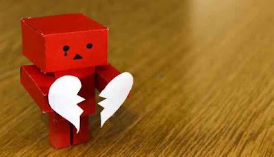 Ilustrasi putus cinta