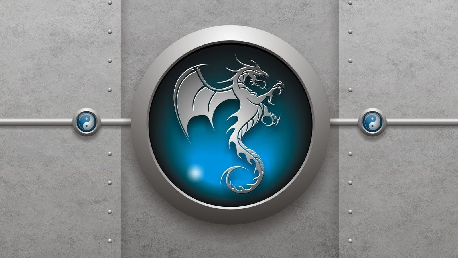 Latest Hq Wallpapers Dragon Logo Wallpaper