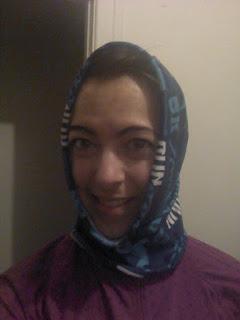 façon de porter un bandeau pour la course, buff, bandana