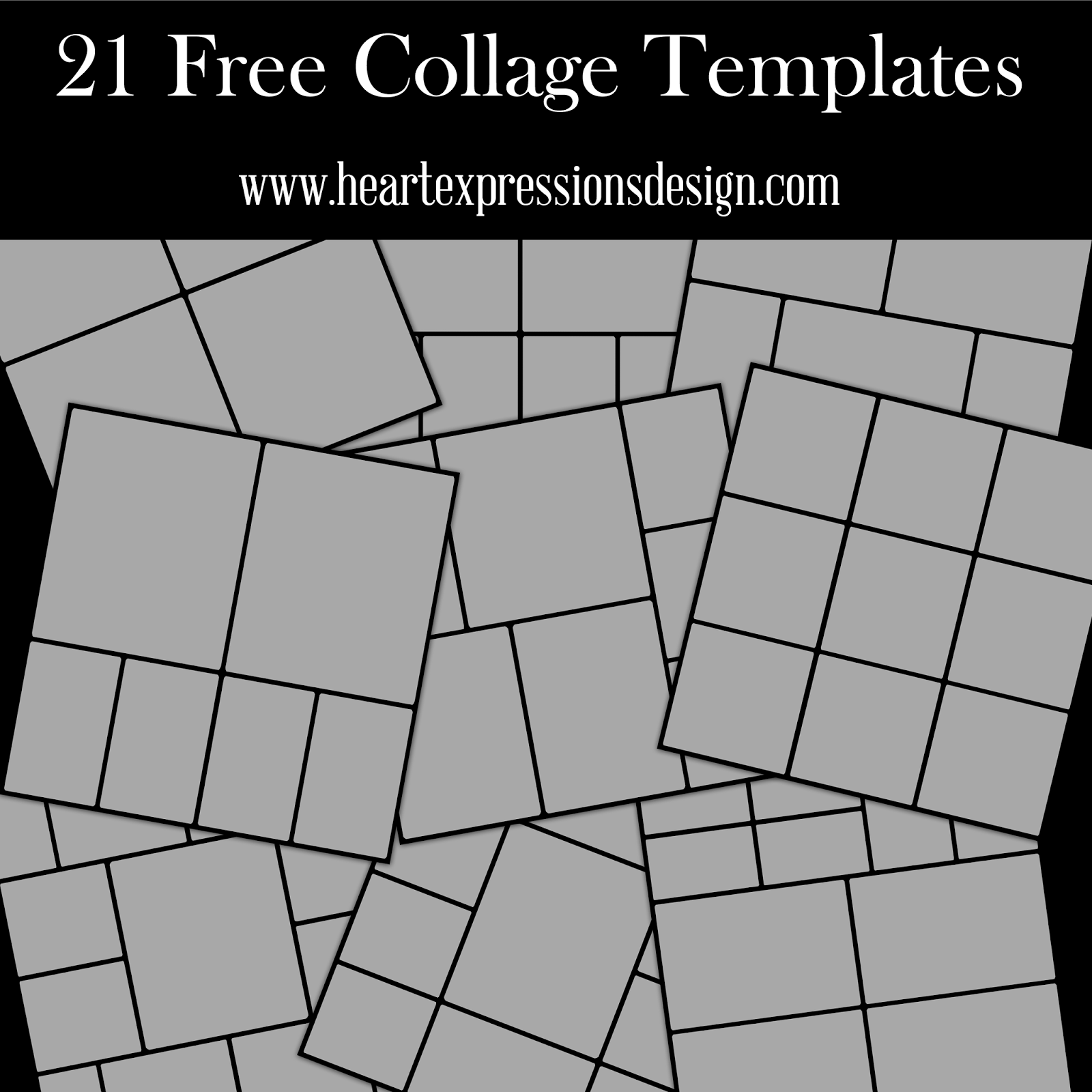 Photoshop collage templates for Collage maker templates free download