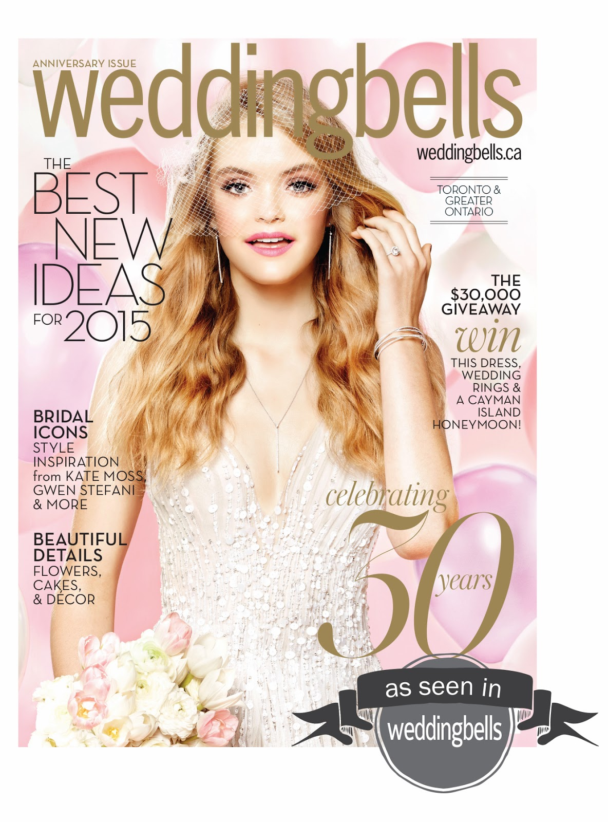 Creative Bag in the media - Weddingbells magazine