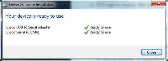 🔥 USB Console Driver and Windows 7 - Cisco Community