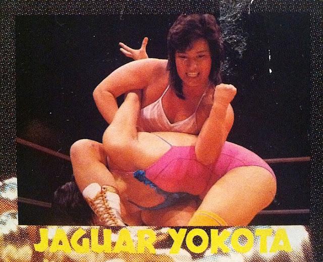 Jaguar Yokota - Japanese Pro Wrestling