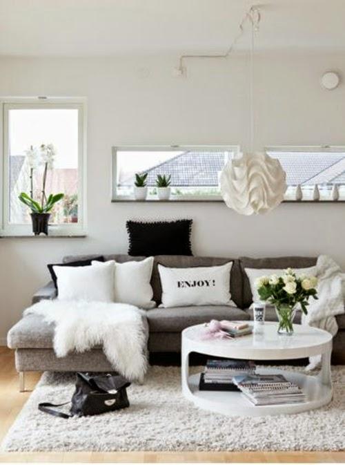 sala pequeña blanca