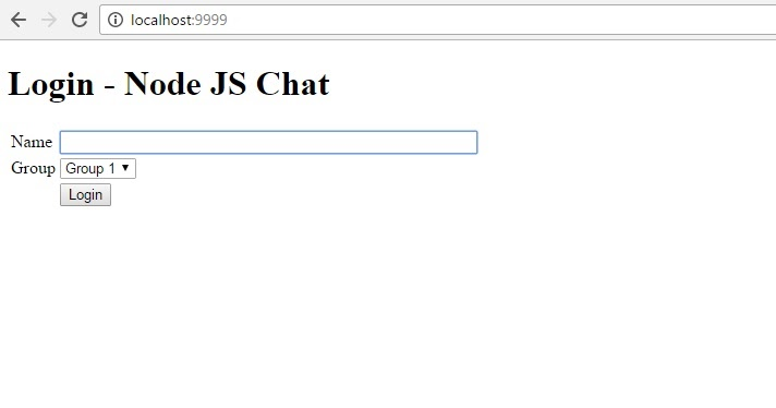 Code Samples Make A Real Time Chat Room Using Node Js