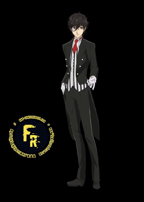 "RENDER Ren Amamiya ""Joker, Akira Kurusu"""