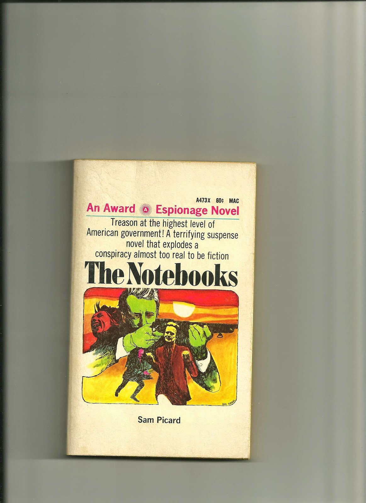 THE NOTEBOOKS by Sam Picard
