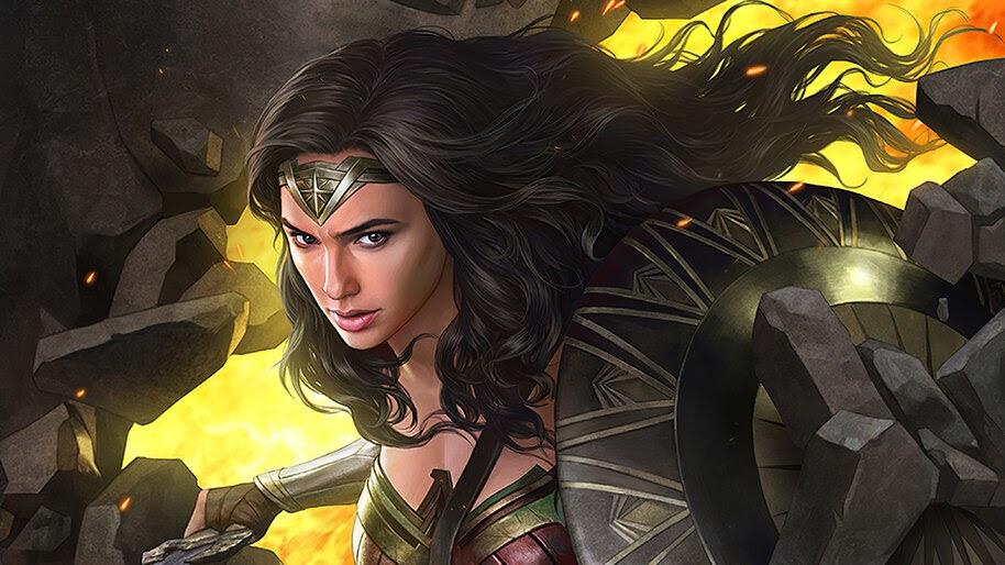 Wonder Woman 1984, Art, 4K, #3.2337