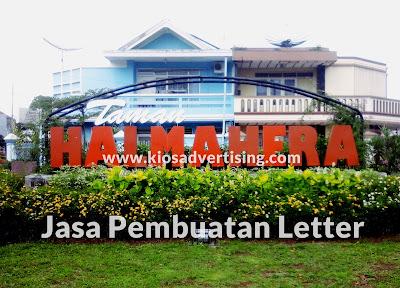 Jasa Pembuatan Letter Akrilik dan Stainless Steel Malang