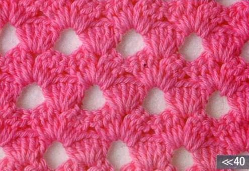 Patrón #1202: Punto Abierto a Crochet