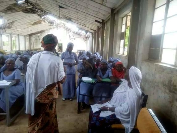 Photos: See the deplorable state of an all girls secondary school in Gombe