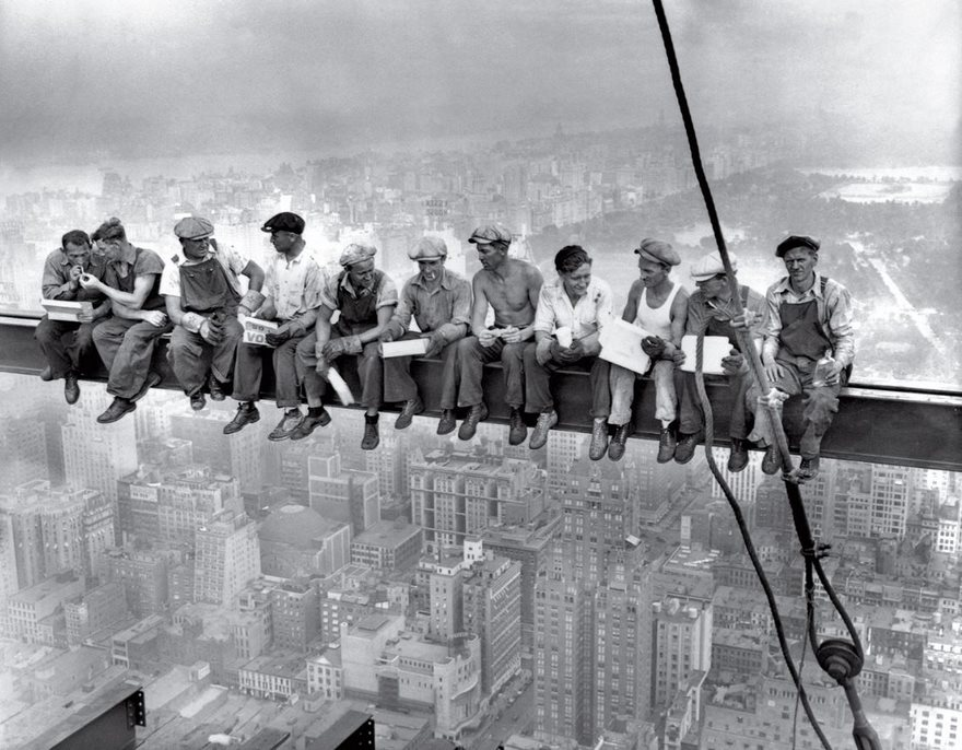 #4 Lunch Atop A Skyscraper, 1932 - Top 100 Of The Most Influential Photos Of All Time