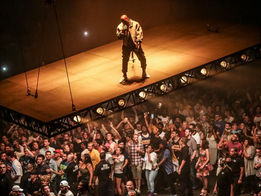 Kanye West Kicks Off Saint Pablo Tour In Indianapolis