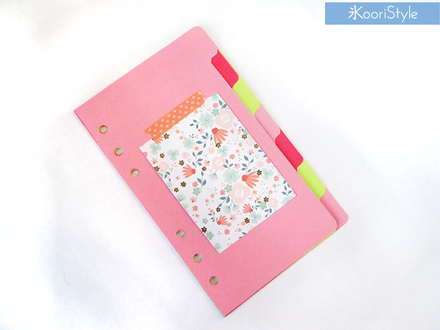Handmade, Crafts, Kawaii, Cute, Paper, Koori Style, KooriStyle, Koori, Style, Planner, Planning, Stationery, Deco, Decoration, Time Planner, Kikki K, Filofax, Washi, Deco, Tape, Journal, Agenda, Stickers, Medium, Live Bright, Ring Planner, How to, Organization, Inserts, Keep, Organize, Divider, Folder, Target, Dollar, Spot, Easy, Cheap, Affordable