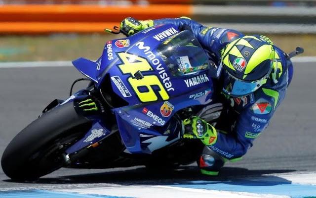 Rossi Tercepat Sesi Qualifikasi, MotoGP Italy 2018