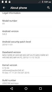 WE V1 Smartphone Firmware Flash File Download 01