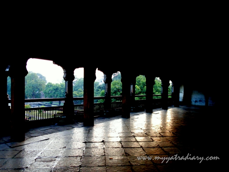 Chambers and hallways, Mastani Mahal, Shaniwar wada fort, Pune