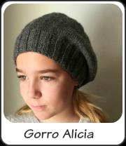 Gorro de Punto Alicia